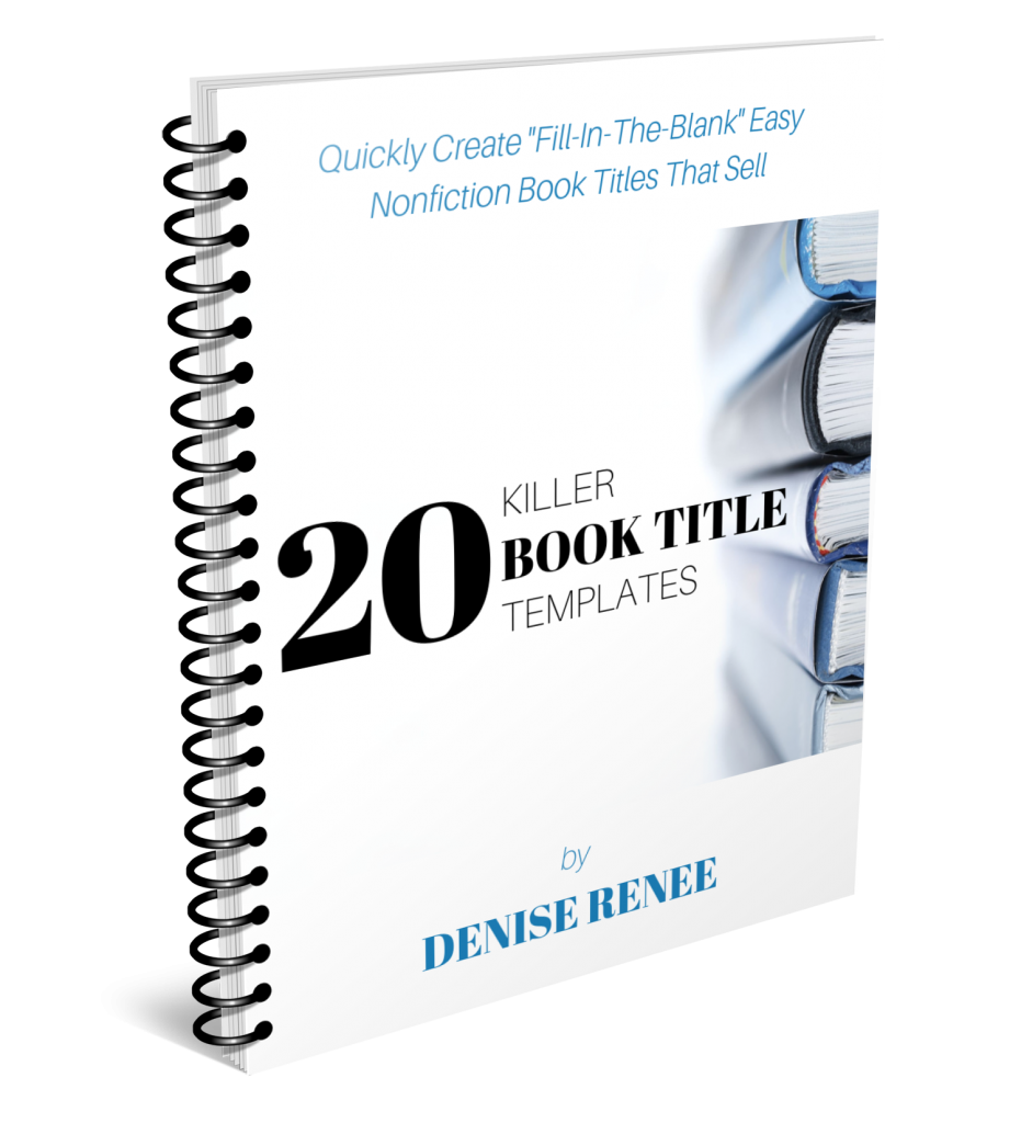 20 Killer Book Title Templates (v2) 3D cover
