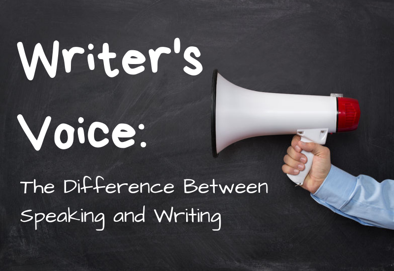 Episode 6 – Writer's Voice: The Difference Between Speaking and Writing