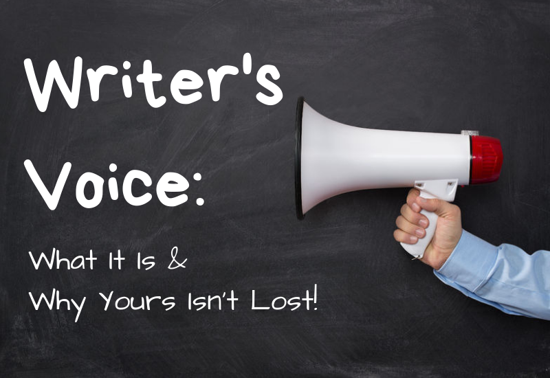 Episode 7 – Writer's Voice: What Is It and Why Yours Isn't Lost