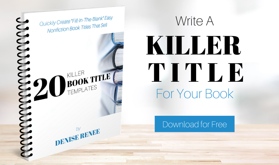 Learn how to write a title that sells your book with this free download. http://writeyourbook.tips/titles